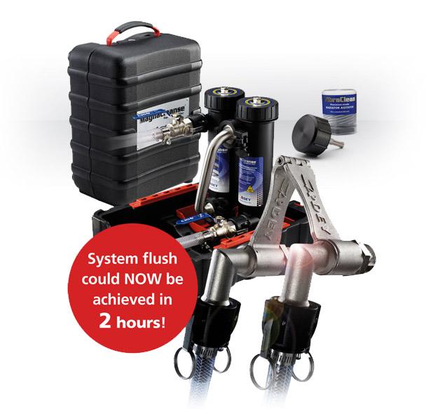 Magnacleanse Flushing System